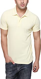 AMERICAN CREW Men's Polyester Polo T-Shirt