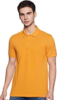 Amazon Brand - Symbol Men's Regular Fit Cotton Polo
