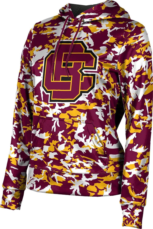 ProSphere Bethune-Cookman University Girls' Pullover Hoodie, School Spirit Sweatshirt (Camo)