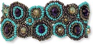 أساور جديدة للنساء من Mayan Arts صناعة يدوية، هدية الصداقة، مجوهرات، سوار يوميًا، ذهبي متعدد الألوان، مشبك مغناطيسي 3.17 س...