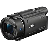 Sony FDR-AX53 4K Ultra HD Flash Memory SDXC/SDHC/SD Camcorder with 20x Optical Zoom & 3