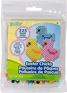 Perler Beads Easter Chicks Craft Kit for Kids, 227pc.