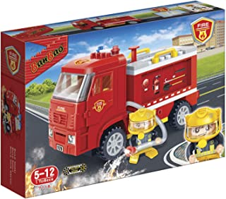 BanBao 7116 Construction Toy, Red