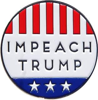 Drumpf.WTF Impeach Trump Anti-Trump, Pro-America Political Button Style Enamel Pin