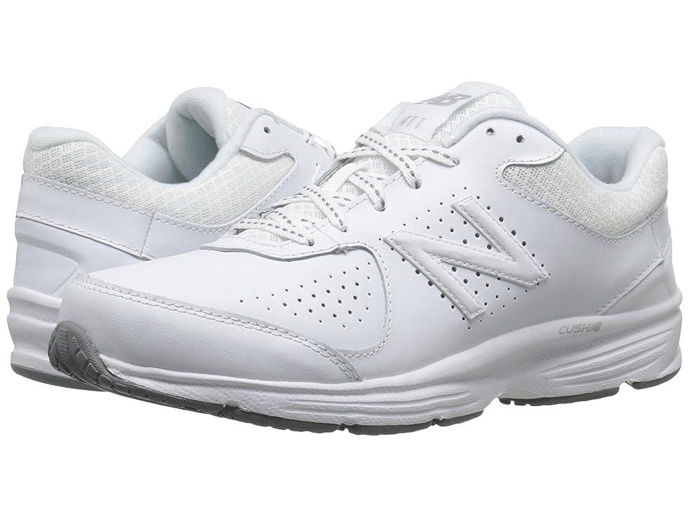人差し指独占しかしながら[new balance(ニューバランス)] レディースウォーキングシューズ?靴 WW411v2 White 6.5 (23.5cm) 2A - Narrow [並行輸入品]