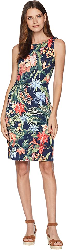 Bonita Botanical Sheath Dress