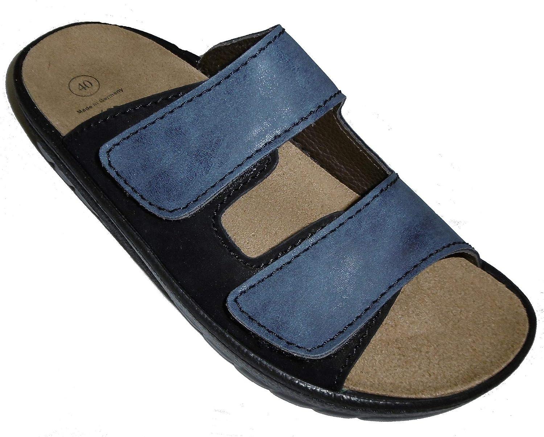 Algemare Men's Leather Clogs & Mules US 8.5   EU 41 bluee