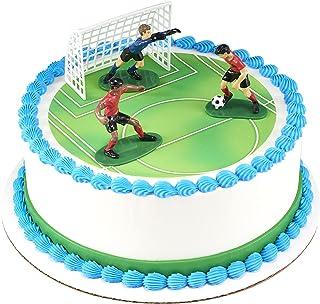 Soccer- Kick Off Boys DecoSet Cake Decoration