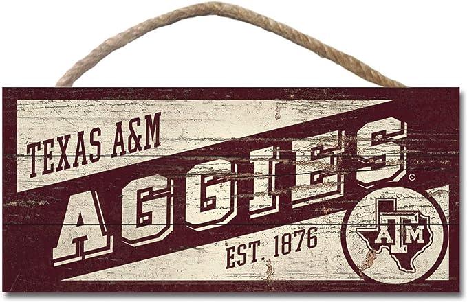 LEGACY NCAA Fan Shop Wood Plank Hanging Sign 10x5 LEAGUE