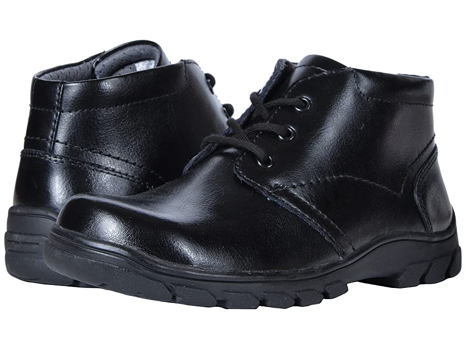 Florsheim Kids Getaway Chukka Boot, Jr. II (Toddler/Little Kid/Big Kid) (Black) Boys Shoes