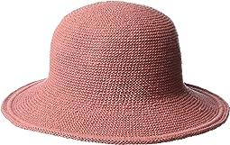 CHM5 Cotton Crochet Medium Brim Sun Hat