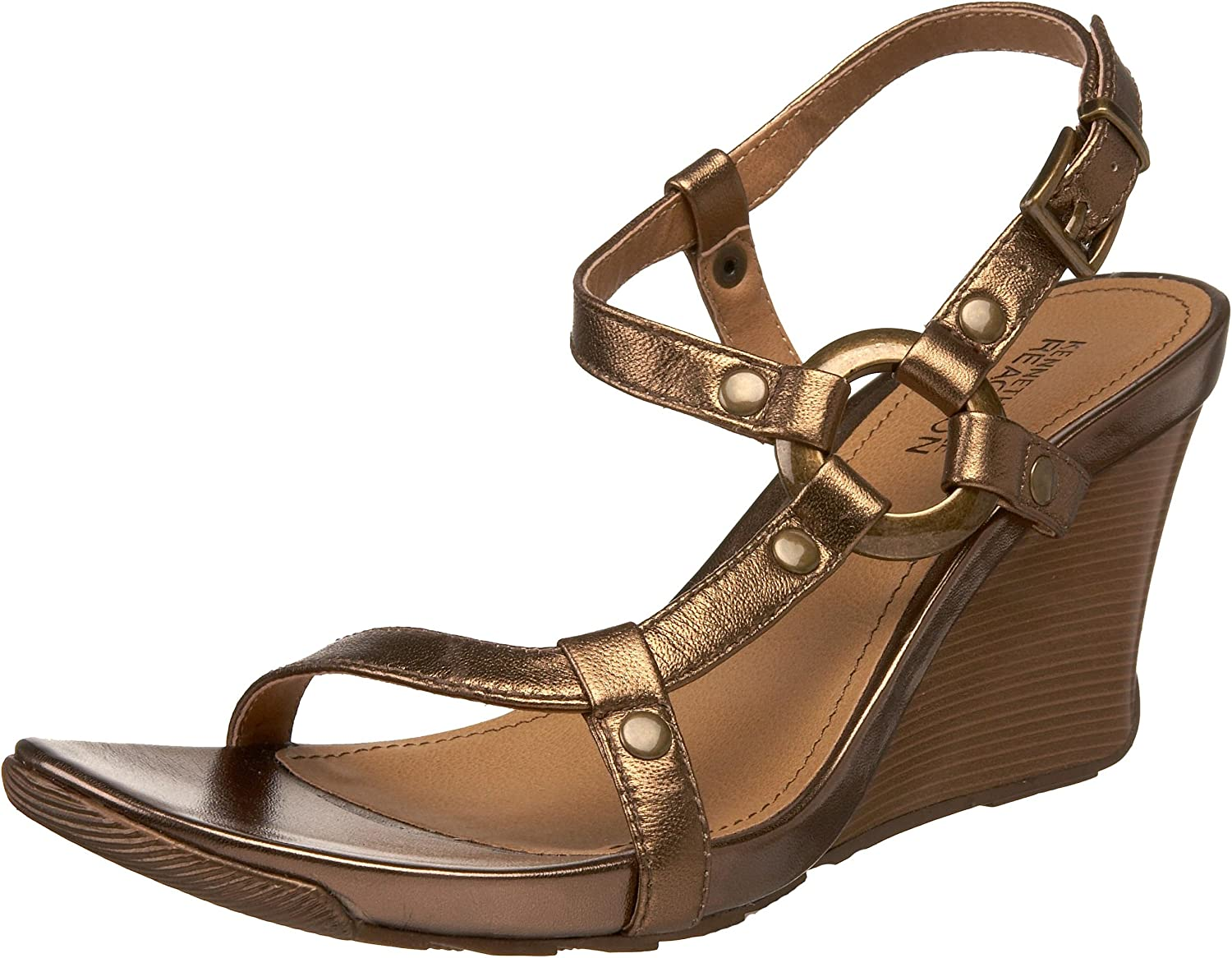 Kenneth Indefinitely Safety and trust Cole REACTION Women's Cedar Sandal Wedge Grove