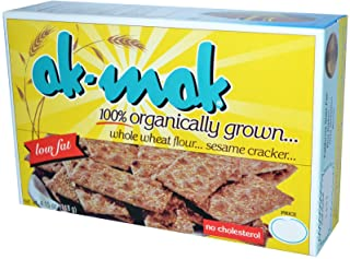Ak-Mak, Whole Wheat Flour Sesame Cracker, 4.15 oz (118 g) Ak-Mak, Whole Wheat Flour Sesame Cracker, 4.15 oz (118 g) - 2pcs