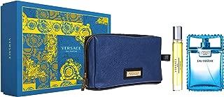Versace Eau Fraiche Giftset For Men, Eau De Toilette 100ml + 10ml + Pouch