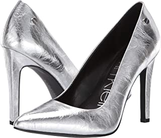 917a368ad92 Amazon.com  Silver - Pumps   Shoes  Clothing