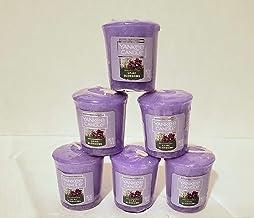 شمعة جديدة من 6 شموع من Yankee Candle من 6 قطع Lilac Blossoms Retive 49.6 جم