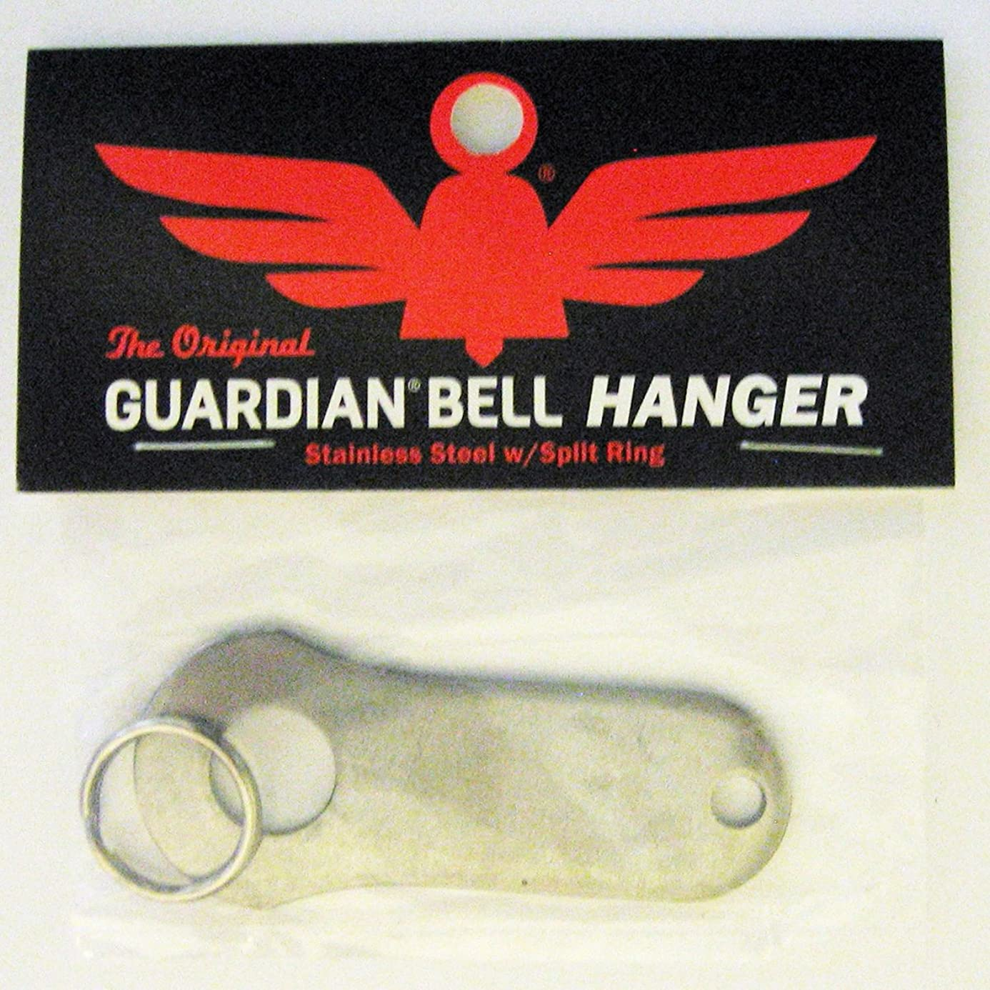 Guardian? Bell Motorcycle Biker Luck Gremlin Riding Bell Hanger (Original Version), Standard, Silver