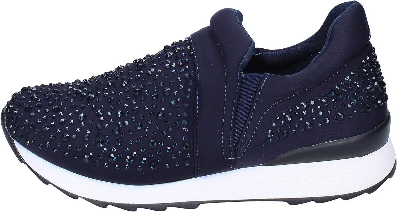 FRANCESCO MILANO Loafers-shoes Womens bluee