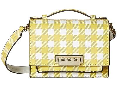 ZAC Zac Posen Earthette Accordion Mini Crossbody (Honey) Handbags
