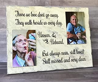 Those We Love Memorial Double Photo Frame - Bereavement Gift- Gifts for Loss