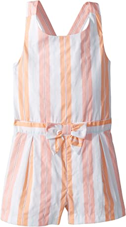 Sleeveless Stripe Romper (Toddler/Little Kids/Big Kids)