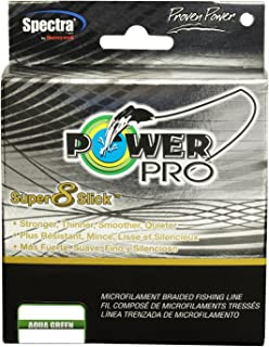 Power Pro 31100400300Q Super 8 Slick Fishing Line, Aqua Green, 40x300