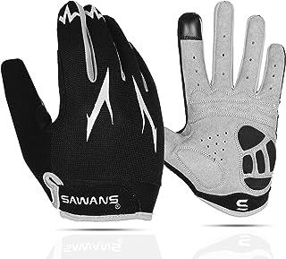 Cycling Gloves Full Finger Mountain Bike Gloves Padded Breathable Touchscreen MTB Road Biking Gloves for Men Women Campin...