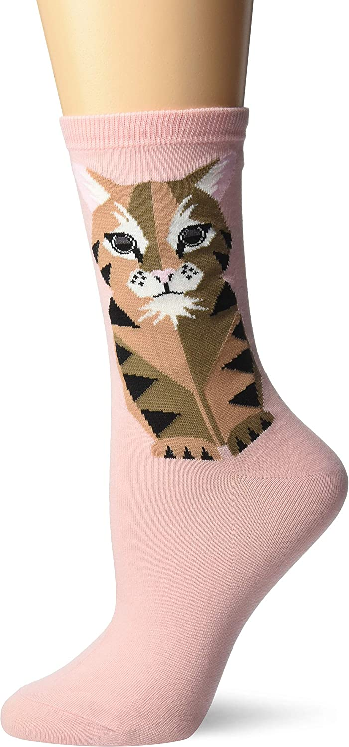 Hot Sox womens Cat Lover Novelty Casual Crew Socks