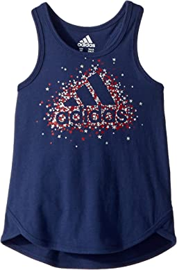 adidas Kids - Focus Tank Top (Toddler/Little Kids)