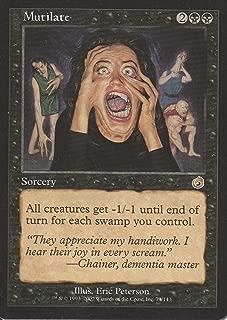 Mutilate (Magic the Gathering : Torment #73 Rare)
