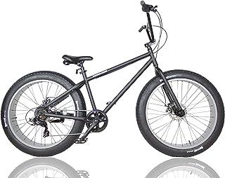 ファットバイク FAT BIKE 26インチ 6段変速ギア付き