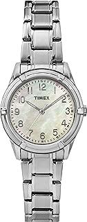 Women's TW2P76000 Easton Avenue Silver-Tone Stainless Steel Bracelet Watch