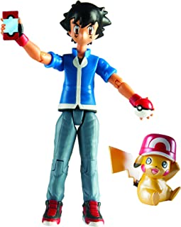 TOMY USA Pokemon 20th Anniversary Pikachu & Ash Figure Limited Edition
