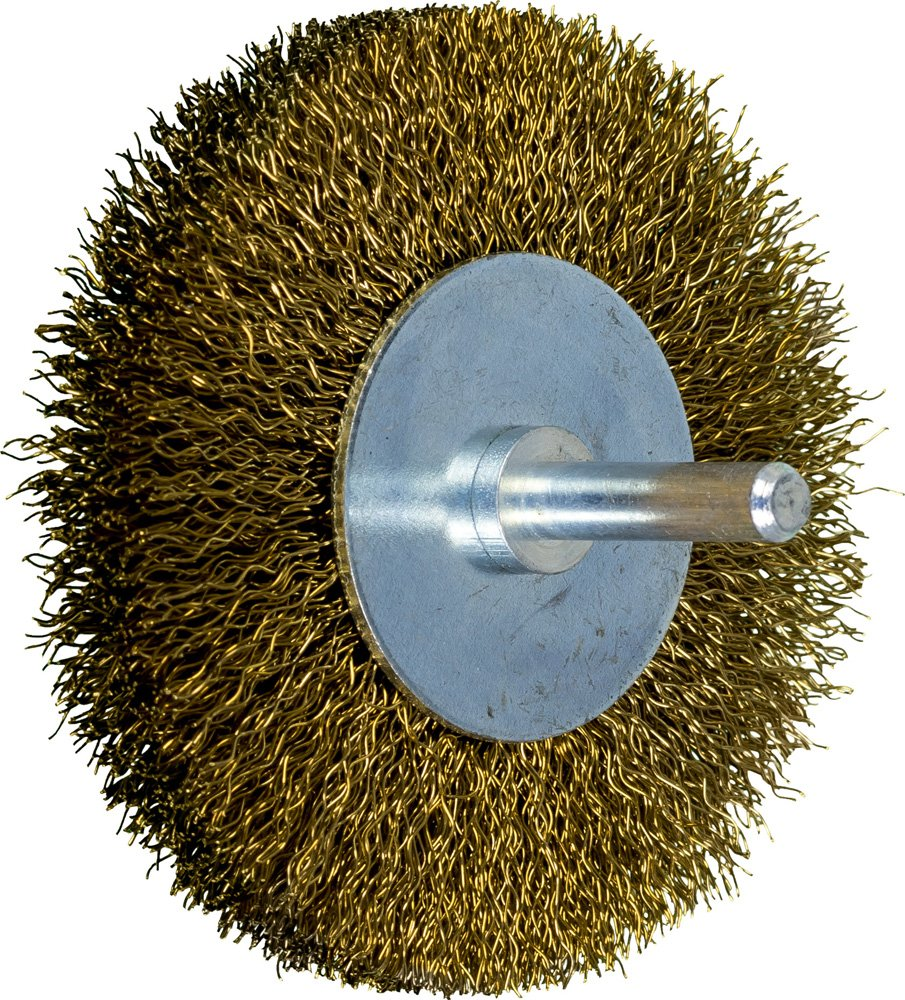 PFERD Clearance SALE! Limited time! 82954 Stem Mounted Jacksonville Mall End Brush Wire Brass Crimped 3