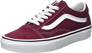 Best burgundy vans with white laces Reviews