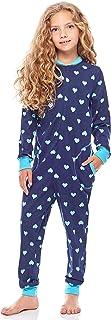 Pijama Entero 1 Pieza Vestido de Casa 100% Algodón Niña MS10-186