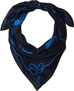Washed Silk Rodeo Bandana Scarf