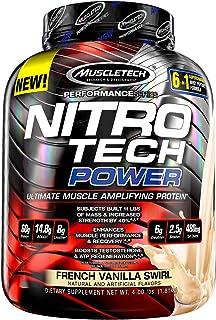 Muscletech Performance Series Nitro-Tech Power French Vanilla Swirl - 1833 gr