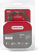 Oregon S39 AdvanceCut 10-Inch Semi Chisel Chainsaw Chain Fits Echo, Poulan, McCulloch