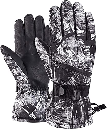 2021 OPTIMISTIC Ski Gloves for wholesale Men, Waterproof Warm Winter Snow Skiing high quality Gloves,ScreenTouch Ski Gloves,Waterproof Winter Gloves Snowboarding Gloves for Outdoor Cycling Snowboarding Skiing online sale