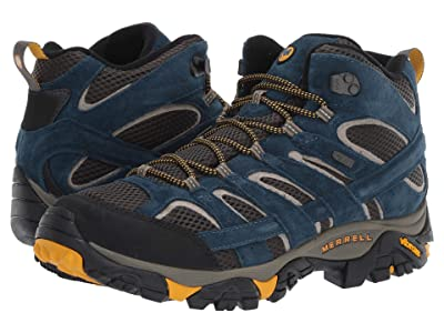 Merrell Moab 2 Mid Waterproof (Olive Blue) Men