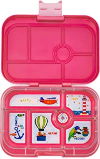 Yumbox Original Leakproof Bento Lunch Box Container for Kids (Lotus Pink)