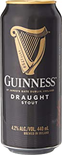 Guinness Draught Beer Can, 440ml (Pack of 24)