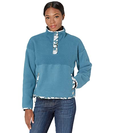 The North Face Liberty Cragmont Fleece 1/4 Snap (Mallard Blue) Women