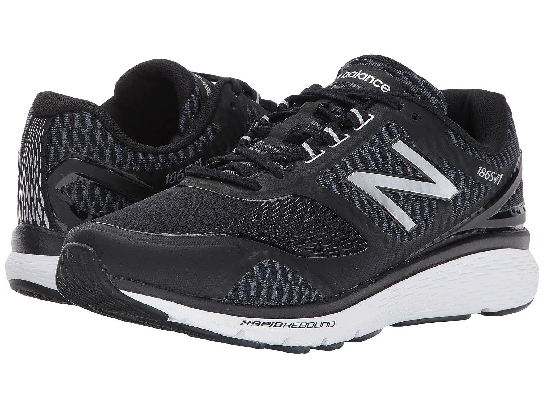 (ニューバランス) New Balance メンズウォーキングシューズ?靴 MW1865v1 Black/Silver 8.5 (26.5cm) EE - Wide