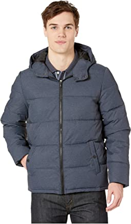 Insulated Melange Puffer Jacket