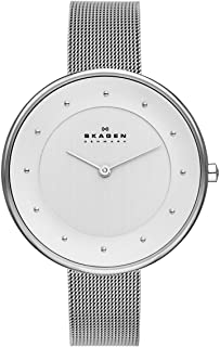 Skagen Women's Gitte Stainless Steel Mesh Casual Quartz Watch