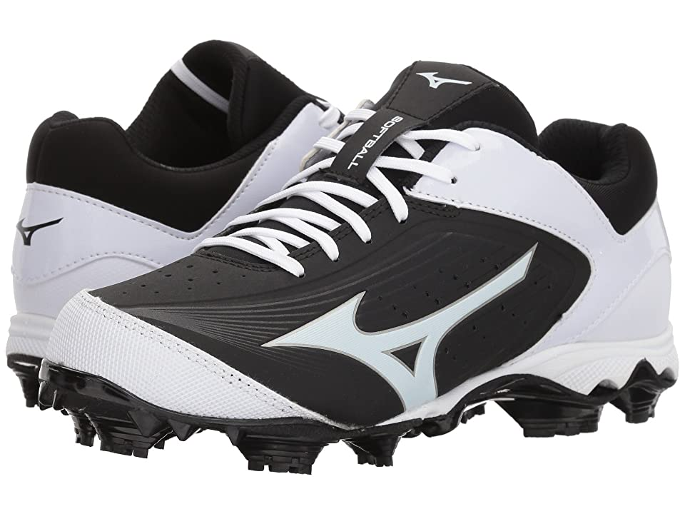 Mizuno 9-Spike(r) Advanced Finch Elite 3 Softball (Black/White) Girls Shoes