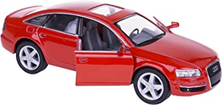 Audi A6, Red - Kinsmart 5303D -1/38 scale Diecast Model Toy Car (Brand New, but NO BOX)