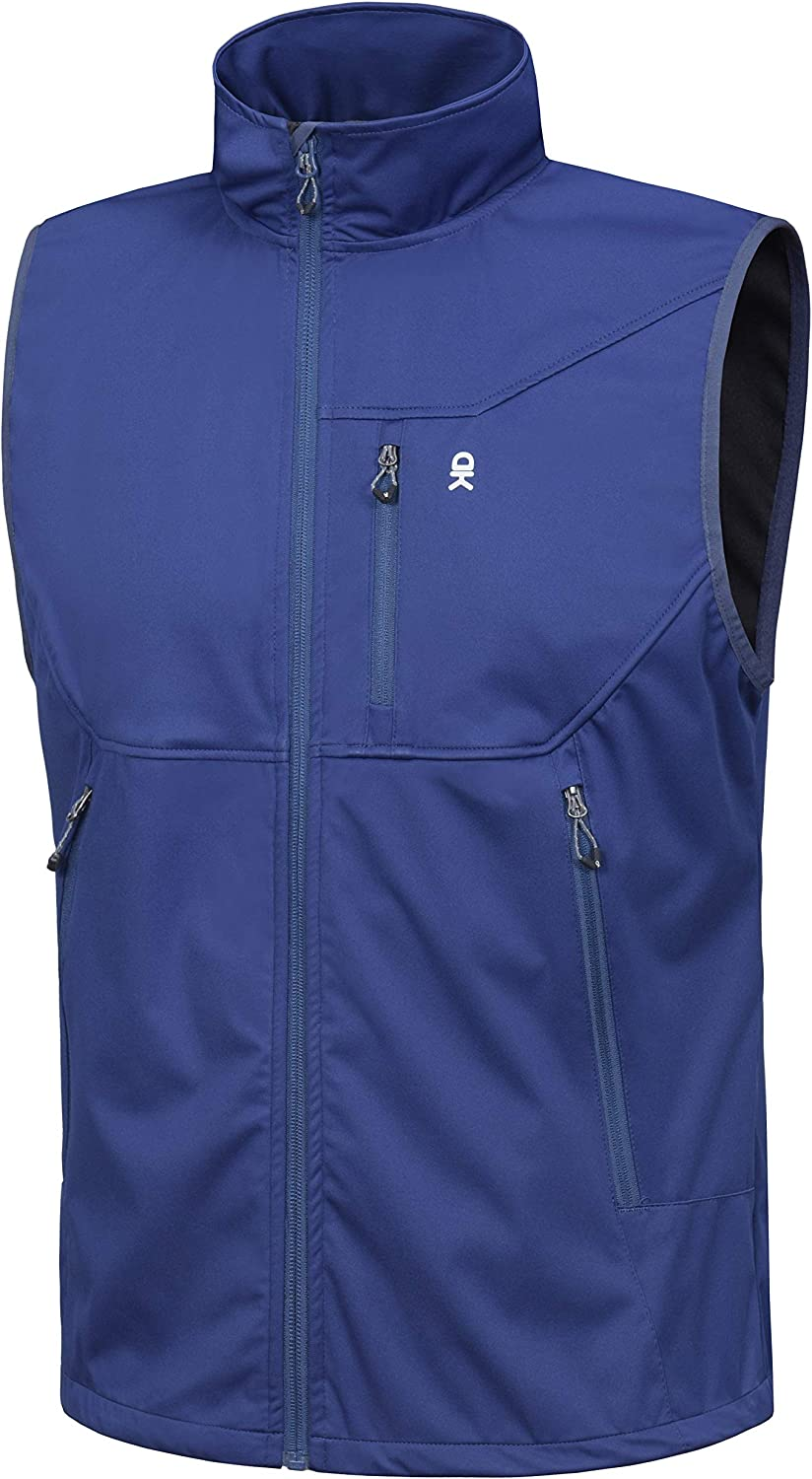 Little Donkey Max 100% quality warranty! 52% OFF Andy Men's Lightweight Vest S Windproof Softshell